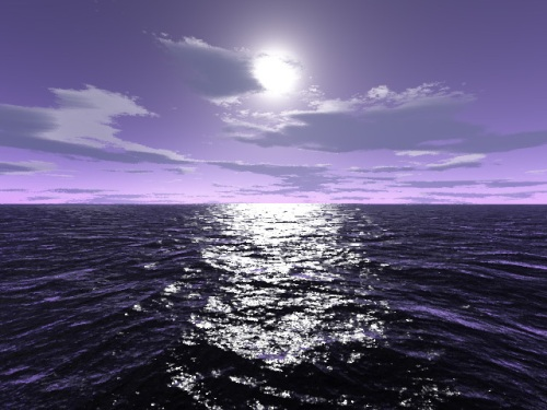 purple-serenity-evening-water